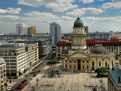 Gendarmenmarkt And German Cathedral