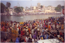 Ghats During Kumbh Mela