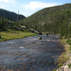 Gibbon River In Yellowstone Park