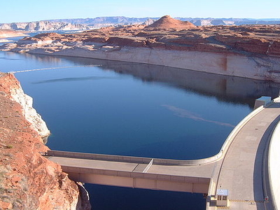 Glen Canyon Dam - Arizona - USA
