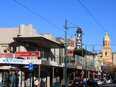Glenelg Shopping Strip