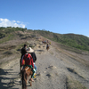 Going To Crater Of Taal Volcano