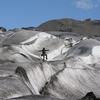 Goofing On Vatnajokull Glacier - Iceland