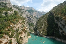 Gorges Du Verdon - Boats