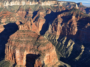 Grand Canyon Helicopter Tour and Colorado River Boat Ride Photos