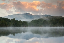 Grandfather Mountain - Julian Price Lake - NC Blue Ridge Mountains