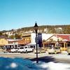 Grand Lake Village In Winter