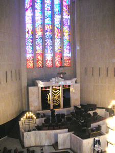 Interior Of Great Synagogue