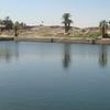 Great Lake At Karnak Temple