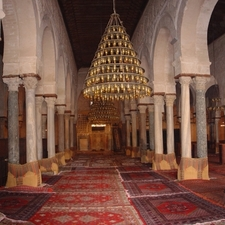 Great Mosque Of Kairouan Prayer Hall