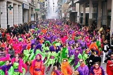 Great Sunday Parade In Greece