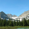 Grinnell Glacier Montana USA
