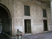 Guard At Rang Mahal