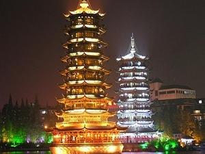 Sun & Moon Twin Pagodas