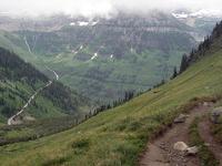 Gunsight Pass Trail
