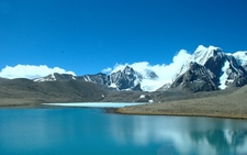 Gurdomangar Lake - Sikkim - Tibet Border