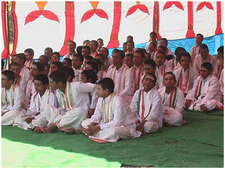 Gurukul Students