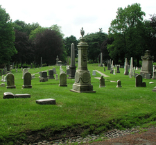 Graves At Green-Wood