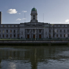 Cork City Hall Reflecting Off The River Lee