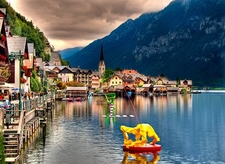 Hallstatt Waterfront - Austria