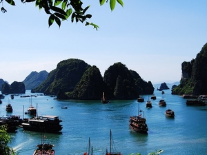 Halong Bay Overnight Junk Boat Cruise Photos