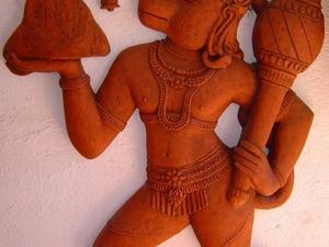 Camp Hanuman Temple