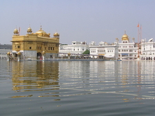 Harmandir Sahib Main Building With Akal Takht Sahib