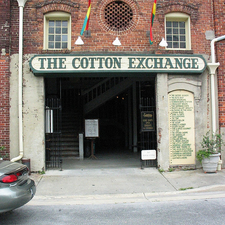 Haunted Cotton Exchange Tour Photos