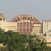 A Panoramic View Of The Hawa Mahal