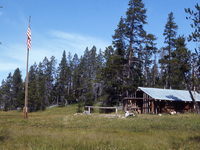 Heart Lake Patrol Cabin
