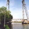 Lift Bridge At Waddinxveen Crossing The Gouwe