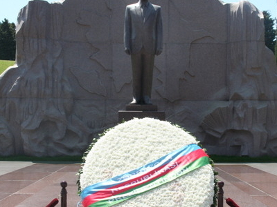 Burial Of Azerbaijani President Heydar Aliyev