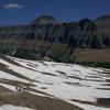 Hidden Lake Overlook Trail View - Glacier - Montana - USA