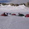 High Camp On Potaniin Glacier - Tavan Bogd NP