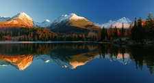 High Tatras - Reflecting In Lake