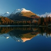 High Tatras Reflecting In Lake