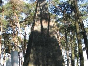 A High-tomb of Franciszek Lakinski