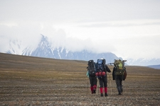 Hiking In Svalbard Near Camp Morton - Spitsbergen