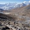 Himalaya Landscape Near Renjo Pass - Nepal Himalayas