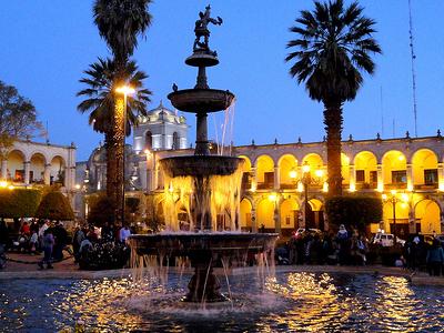 Historic Arequipa Plaza De Armas