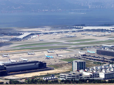 Hong Kong International Airport From Lantau