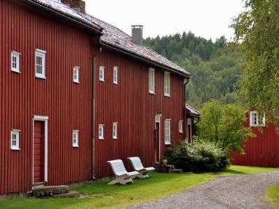 Hovedhuset På Holmen Gård I Gjerstad