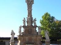 Holy Trinity Statue-Vác