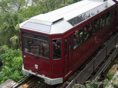 Current Peak Tram Car