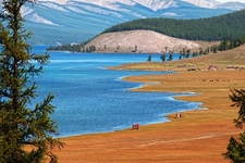 Hovsgol Lake In Mongolia