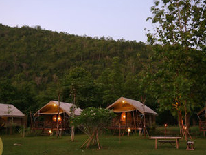 Hintok River Camp @Hellfire Pass