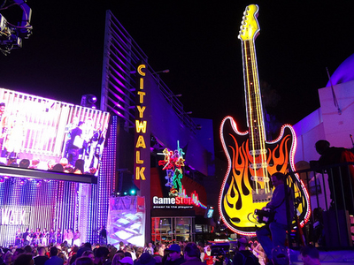 Huge Guitar At Universal CityWalk