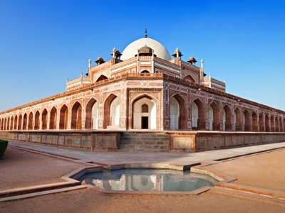 Humayun's Mausoleum At New Delhi