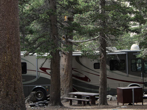 Humboldt-Toiyabe Trumbull Lake Campground