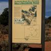 The Sign At The Start Of Hell's Backbone Near Boulder, UT